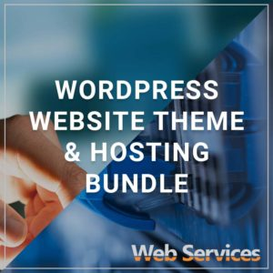 WordPress Website Theme and Hosting Bundle