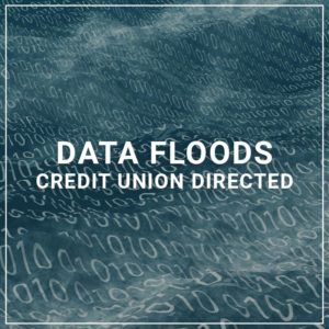 Data Floods - Credit Union Directed
