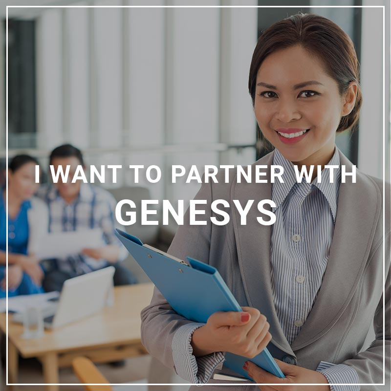 I Want to Partner with Genesys