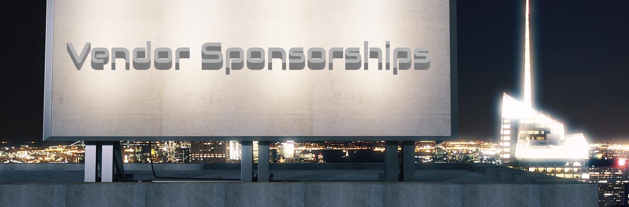 Vendor Sponsorships