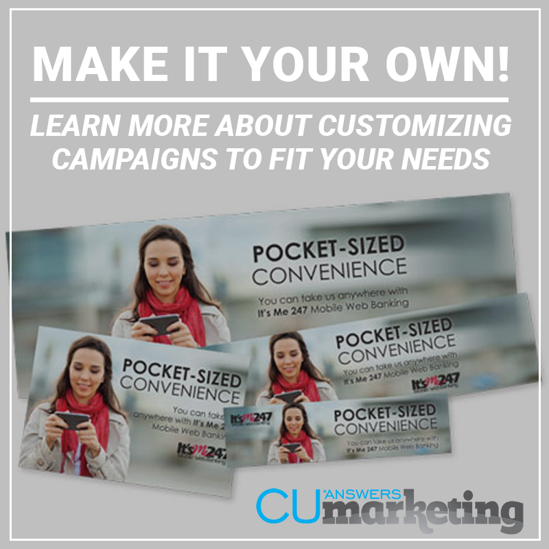Customize an Existing Campaign - a service by Marketing