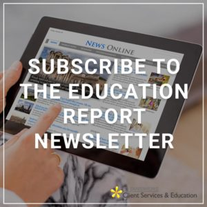 Subscribe to the Education Report Newsletter