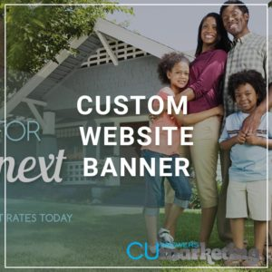 Custom Website Banner