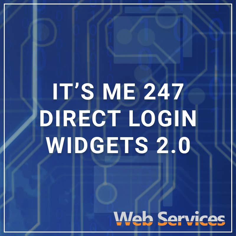 It's Me 247 Direct Login Widgets 2.0