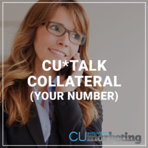 CU*Talk Collateral (Your Number)