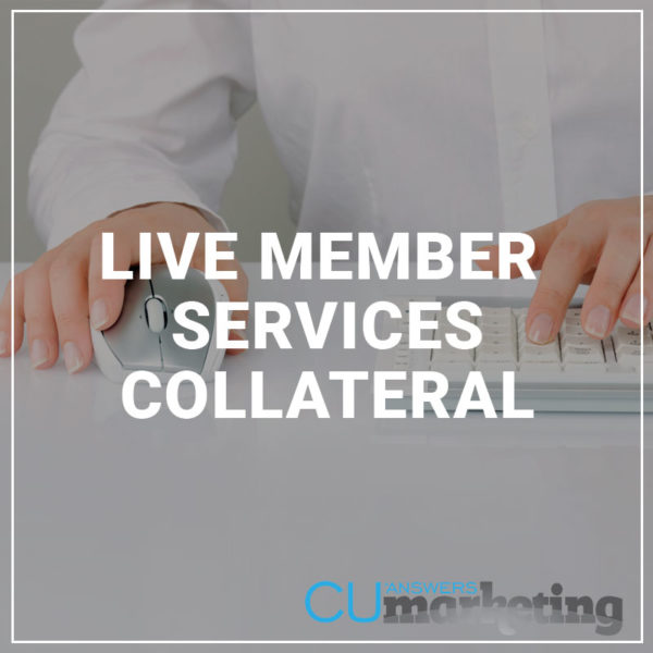Live Member Service Collateral