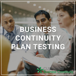 Business Continuity Plan Testing - a service by Business Continuity