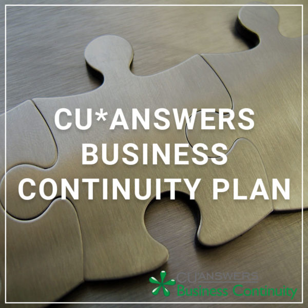 CU*Answers Business Continuity Plan - a service by Business Continuity