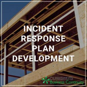 Incident Response Plan Development