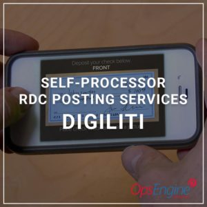 Self Processor RDC Posting Services - Digiliti