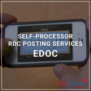 Self-Processor RDC Posting Services - eDOC