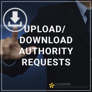 Upload/Download Authority Requests