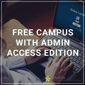 Free Campus with Admin Access Edition - a service by Client Services