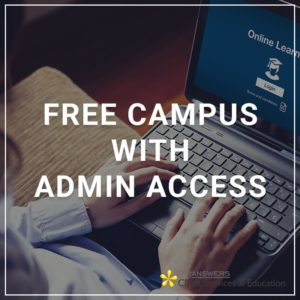Free Campus with Admin Access
