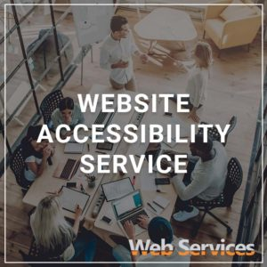 Website Accessibility Service - a service by Web Services and Siteimprove
