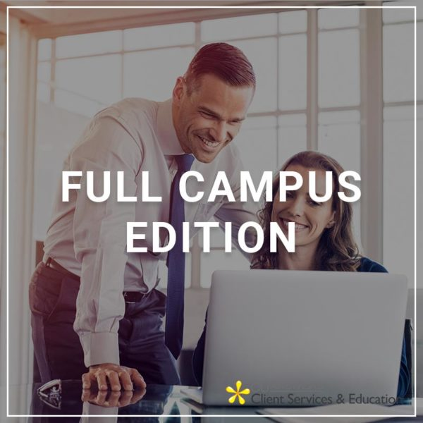 Full Campus Edition - a service by Client Services