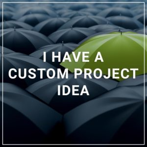 I Have a Custom Project Idea