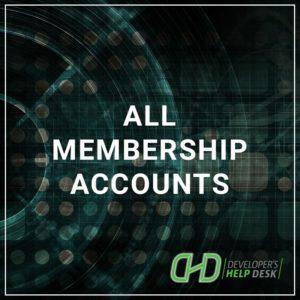 All Membership Accounts