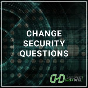 Change Security Questions