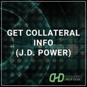 Get Collateral Info J.D. Power