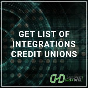 Get List of Integrations Credit Unions