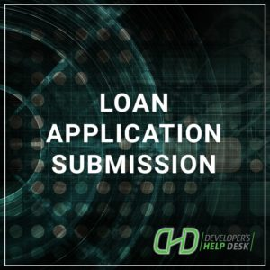 Loan Application Submission