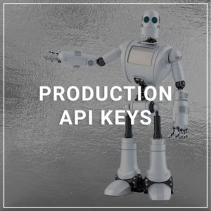 Production API Keys