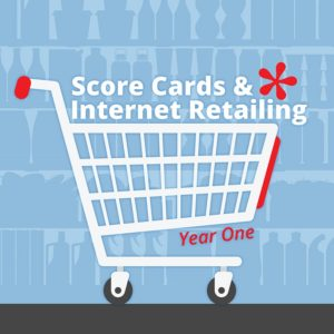 Score Cards and Internet Retailing Year One Brochure
