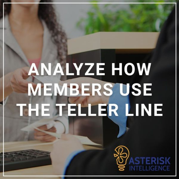 Analyze How Members Use the Teller Line