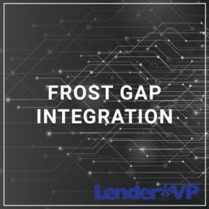 Frost GAP Integration