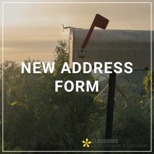 New Address Form