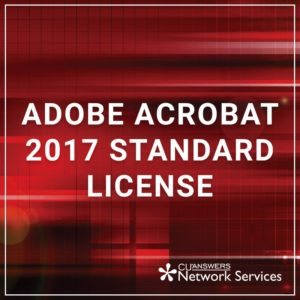 Adobe Acrobat Standard License