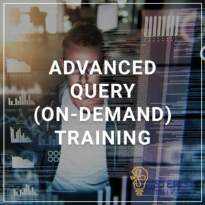 Advanced Query (On-demand) Training