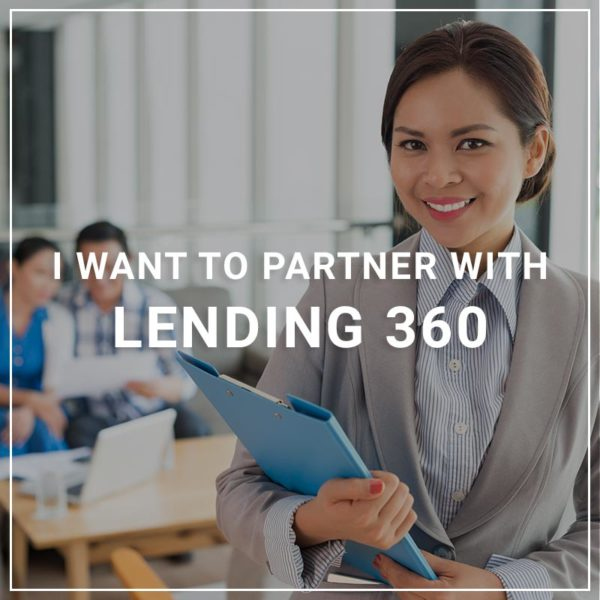 I Want to Partner with Lender 360