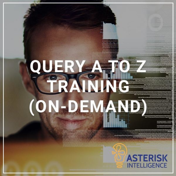 Query A to Z Training