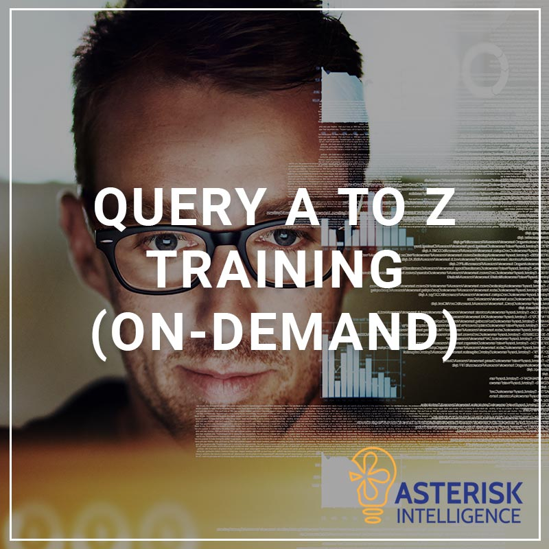 Query A to Z Training (On-Demand)