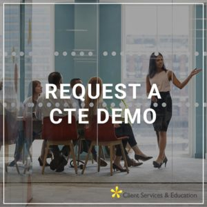 Request a CTE Demo