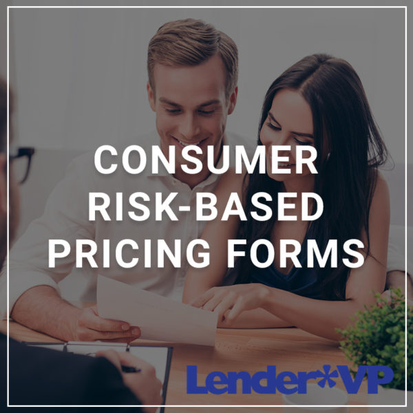 Consumer Risk-Based Pricing Forms