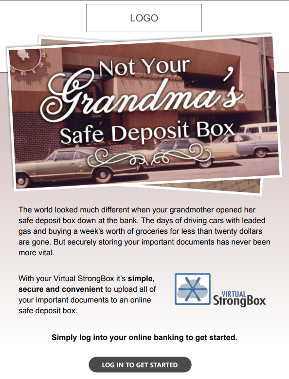 Not your Grandmas Safe Deposit Box