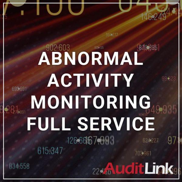 Abnormal Activity Monitoring Full Service