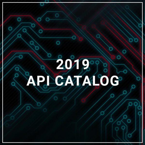 2019 API Catalog