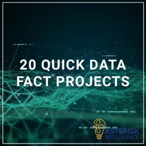 20 Quick Data Fact Projects