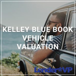 Kelley Blue Book Vehicle Valuation