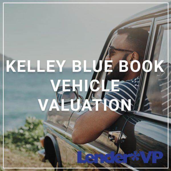 Kelley Blue Book Vehicle Valuation