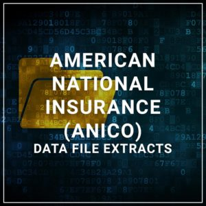 ANICO Data file Extracts