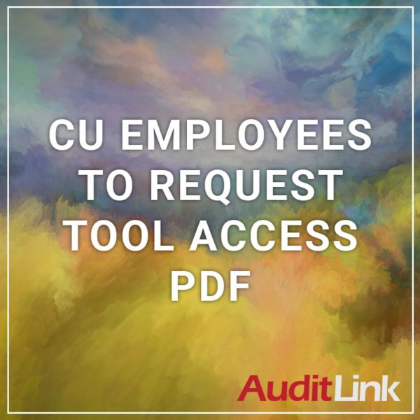 CU Employees to Request Tool Access PDF