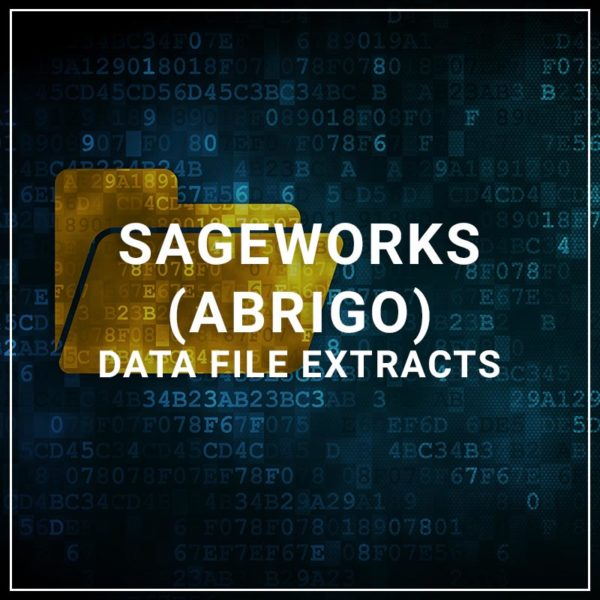 Sageworks (Abrigo) Data File Extracts