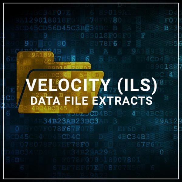 Velocity (ILS) Data File Extracts