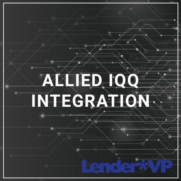 Allied IQQ Integration