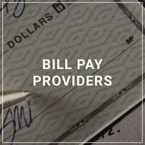 Bill Pay Providers
